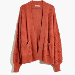 Madewell Bobble Cardigan Sweater XXL